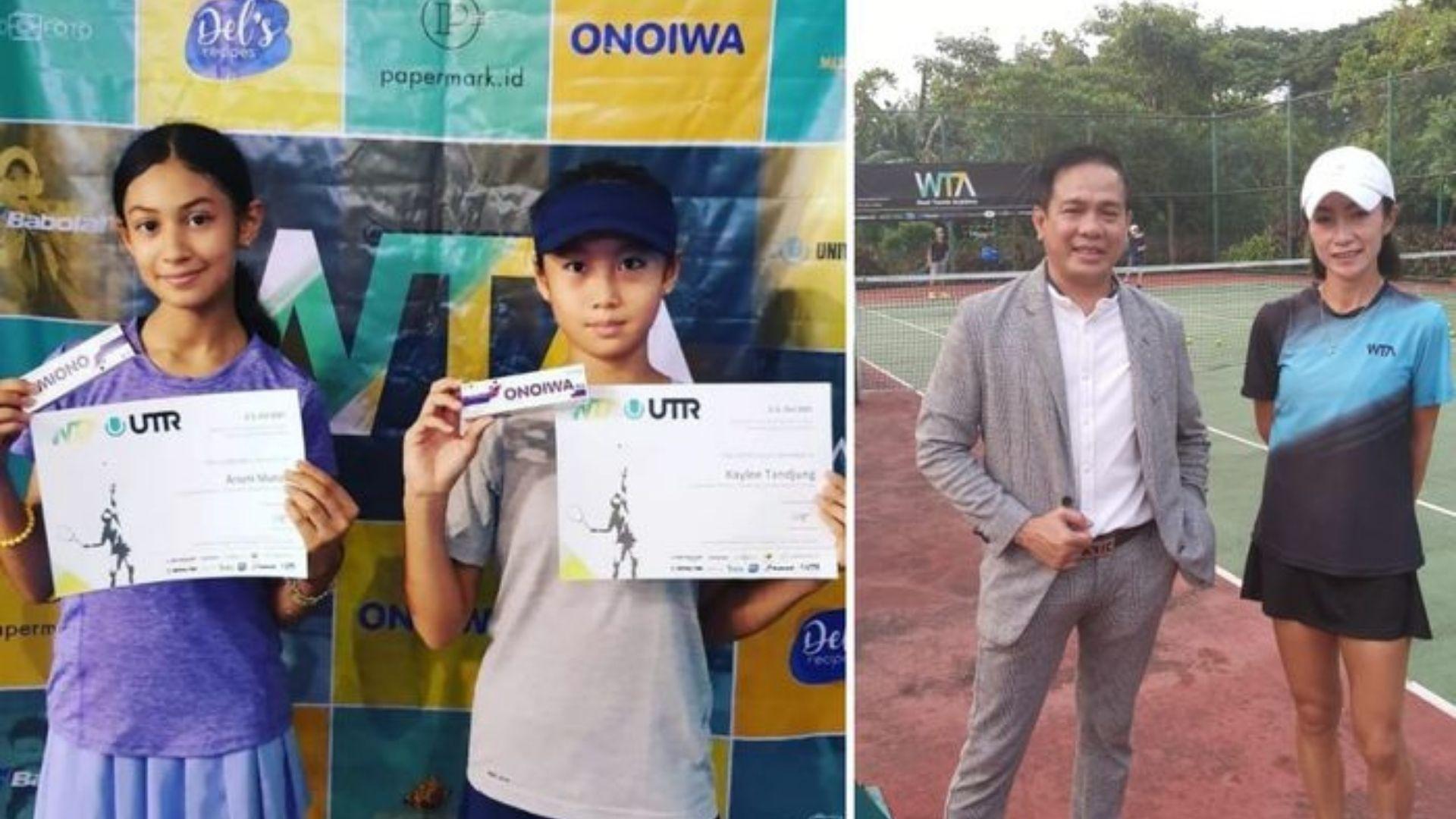 West Tennis Academy Digelar, Nucleus Farma Sponsori Para Peserta